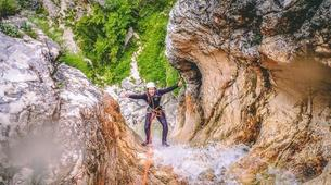 Canyoning-Bled-Extreme Canyoning in the Soča Valley, near Bled-6