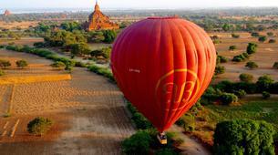 Hot Air Ballooning-Bagan-Hot air balloon flight over Bagan-1