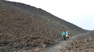 Randonnée / Trekking-Mount Etna-Randonnée au sommet de la Montagnola (2 640 m), Etna-1