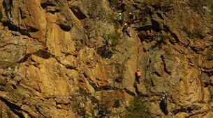 Klettersteig-Villach-Klettersteig zum Fallbachwasserfall, bei Fischertratten-6