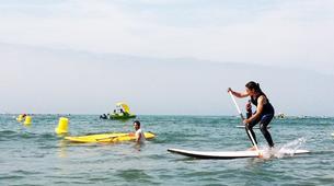Stand up Paddle-Vilanova i la Geltru-SUP excursion in Ribes Roges beach in Vilanova i la Geltru, Catalonia-4
