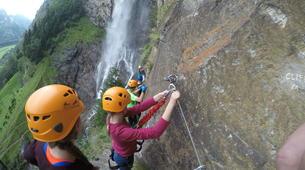 Klettersteig-Villach-Klettersteig zum Fallbachwasserfall, bei Fischertratten-4