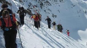 Ski Hors-piste-Pic du Midi de Bigorre-Ski Hors-Piste sur le Pic du Midi de Bigorre, Pyrénées-6