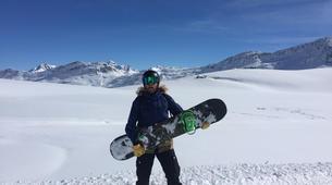 Backcountry snowboarding-Madesimo-Backcountry snowboarding freeriding day trip in Madesimo-2