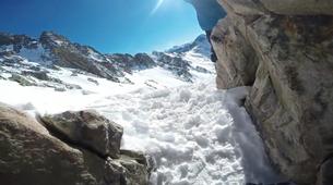 Ski Hors-piste-Pic du Midi de Bigorre-Ski Hors-Piste sur le Pic du Midi de Bigorre, Pyrénées-1