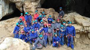 Caving-Oviedo-Cueva Huera caving excursion near Oviedo-2