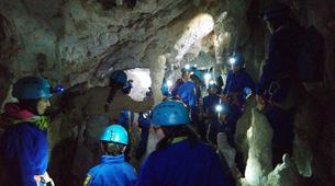 Caving-Oviedo-Cueva Huera caving excursion near Oviedo-4