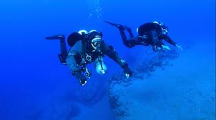 Plongée sous-marine-Castillo del Aguila, Lanzarote-Plongées d'aventure depuis Marina Rubicon, Playa Blanca-3