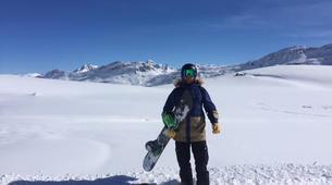 Backcountry snowboarding-Madesimo-Backcountry snowboarding freeriding day trip in Madesimo-3