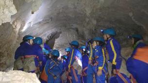 Caving-Oviedo-Cueva Huera caving excursion near Oviedo-1