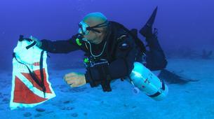 Plongée sous-marine-Castillo del Aguila, Lanzarote-Plongées d'aventure depuis Marina Rubicon, Playa Blanca-5