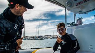 Plongée sous-marine-La Graciosa, Lanzarote-Essayer de plonger à La Graciosa, Lanzarote-3
