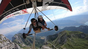 Hang gliding-Annecy-Hang gliding tandem flight over Annecy-2