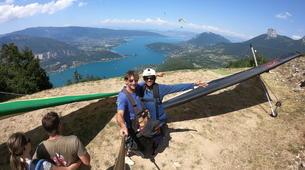 Ala detla-Annecy-Hang gliding tandem flight over Annecy-2