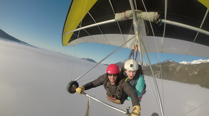 Hang gliding-Annecy-Hang gliding tandem flight over Annecy-6