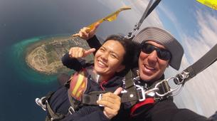Skydiving-Cebu-Tandem Skydive from Bantayan Island near Cebu-1