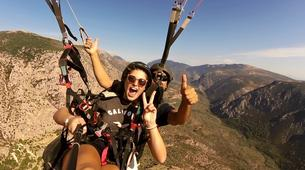 Paragliding-Delphi-Tandem paragliding flight in Delphi, Greece-3