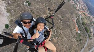 Paragliding-Delphi-Tandem paragliding flight in Delphi, Greece-1