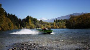 Lancha a Motor-Wanaka-Jet Boating on the Clutha River, Lake Wanaka-5