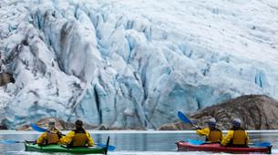 Excursión a los glaciares-Rosendal-Glaicer kayaking on the Møsevass Glacier-2