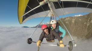 Hang gliding-Annecy-Hang gliding tandem flight over Annecy-3