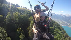 Parapente-Annecy-Tandem paragliding flight in Annecy-3