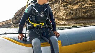 Plongée sous-marine-La Graciosa, Lanzarote-Essayer de plonger à La Graciosa, Lanzarote-2