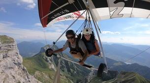 Ala detla-Annecy-Hang gliding tandem flight over Annecy-4