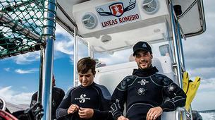 Plongée sous-marine-La Graciosa, Lanzarote-Essayer de plonger à La Graciosa, Lanzarote-4
