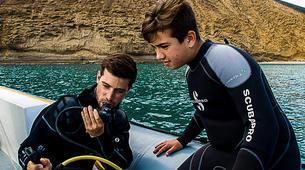 Plongée sous-marine-La Graciosa, Lanzarote-Essayer de plonger à La Graciosa, Lanzarote-6