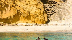 Plongée sous-marine-La Graciosa, Lanzarote-Essayer de plonger à La Graciosa, Lanzarote-1
