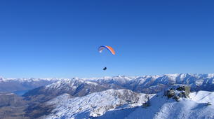 Paragliding-Queenstown-Winter Tandem Paragliding at Coronet Peak-6