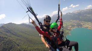 Parapente-Annecy-Tandem paragliding flight in Annecy-1