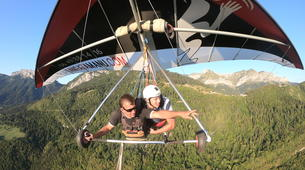 Hang gliding-Annecy-Hang gliding tandem flight over Annecy-1