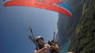 Parapente-Annecy-Tandem paragliding flight in Annecy-5