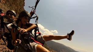 Paragliding-Delphi-Tandem paragliding flight in Delphi, Greece-5