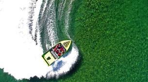 Lancha a Motor-Wanaka-Jet Boating on the Clutha River, Lake Wanaka-2