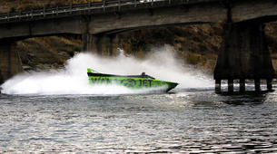 Lancha a Motor-Wanaka-Jet Boating on the Clutha River, Lake Wanaka-4