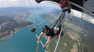 Hang gliding-Annecy-Hang gliding tandem flight over Annecy-4
