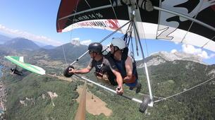 Ala detla-Annecy-Hang gliding tandem flight over Annecy-5