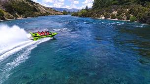 Lancha a Motor-Wanaka-Jet Boating on the Clutha River, Lake Wanaka-3