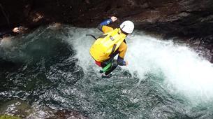 Canyoning-La Soufrière-Canyon de Vauchelet à Basse-Terre, Guadeloupe-2