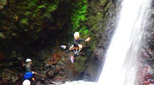Canyoning-La Soufrière-Ti-canyon à Basse-Terre, Guadeloupe-7