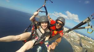 Paragliding-Gran Canaria-Tandem paragliding in Playa de las Canteras, Gran Canaria-15