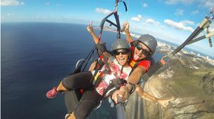 Paragliding-Gran Canaria-Tandem paragliding in Playa de las Canteras, Gran Canaria-1