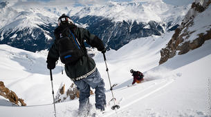 Backcountry Skiing-Val Thorens, Les Trois Vallées-Backcountry skiing in Val Thorens, Alps-2