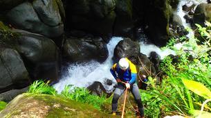 Canyoning-La Soufrière-Canyon de Vauchelet à Basse-Terre, Guadeloupe-4