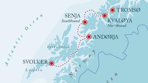 Mountain bike-Tromsø-Bike & Sail Tour on the Arctic Haute Route-3