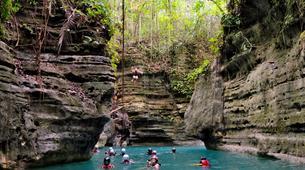 Canyoning-Cebu-Canyoning at Kawasan Falls in Cebu, Philippines-4