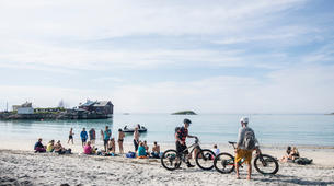 Mountain bike-Tromsø-Bike & Sail Tour on the Arctic Haute Route-2